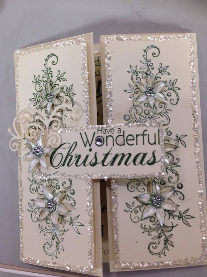 Christmas Card - Essential products for this project can be found - christmas card layout