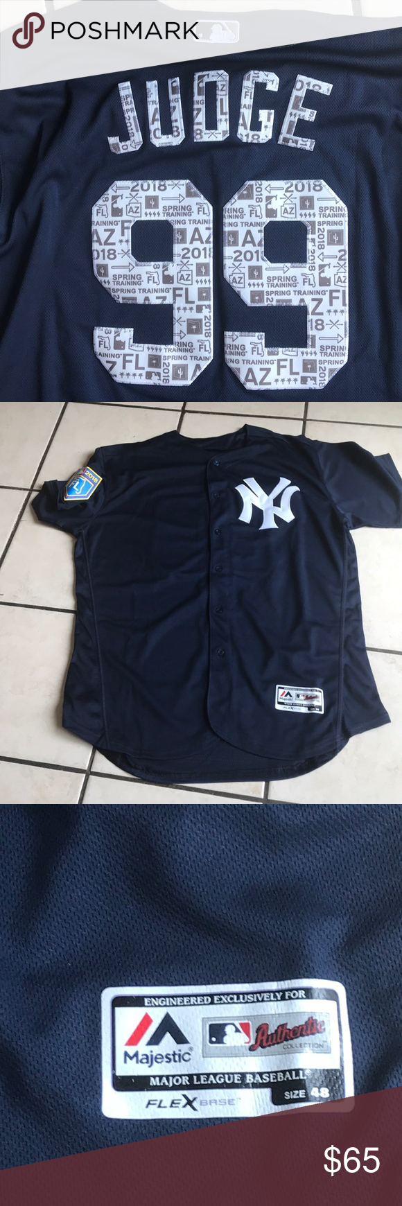 2018 Yankees Spring Training Jersey Aaron Judge- 2018 Spring Training Jersey.  Majestic Flexbase XL Majestic Other 650115118d5