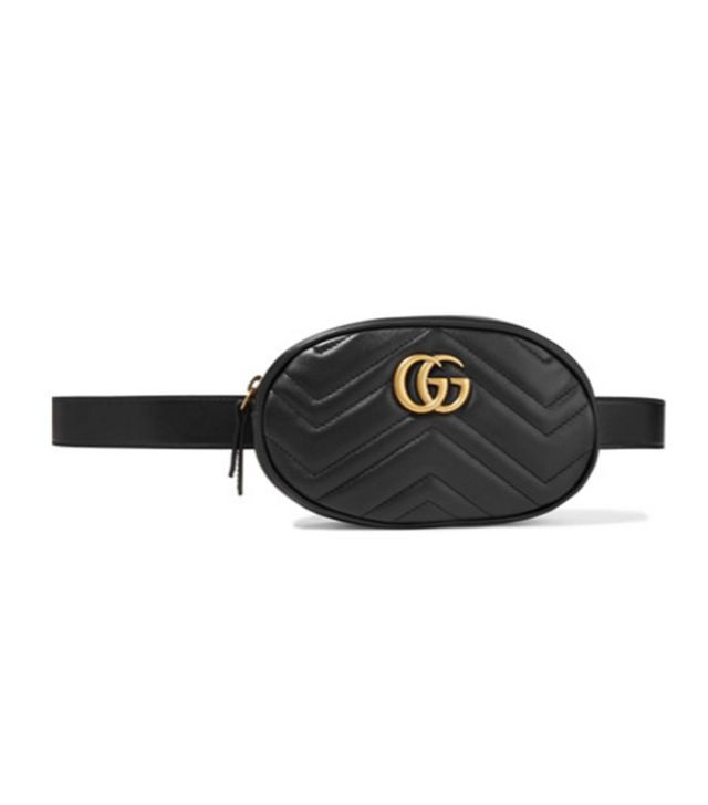 497967736f97 how to wear a bum bag: Gucci | Bum bag | Leather belt bag, Bags ...