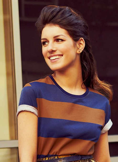 Shenae Grimes from her feature on StyleCaster.com