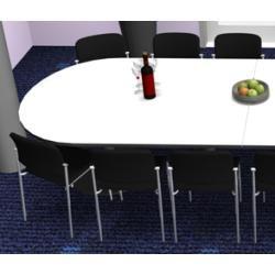 Photo of Conference table Pendo Rondo semicircular Xxl selection color Optionsbla-ulm.de