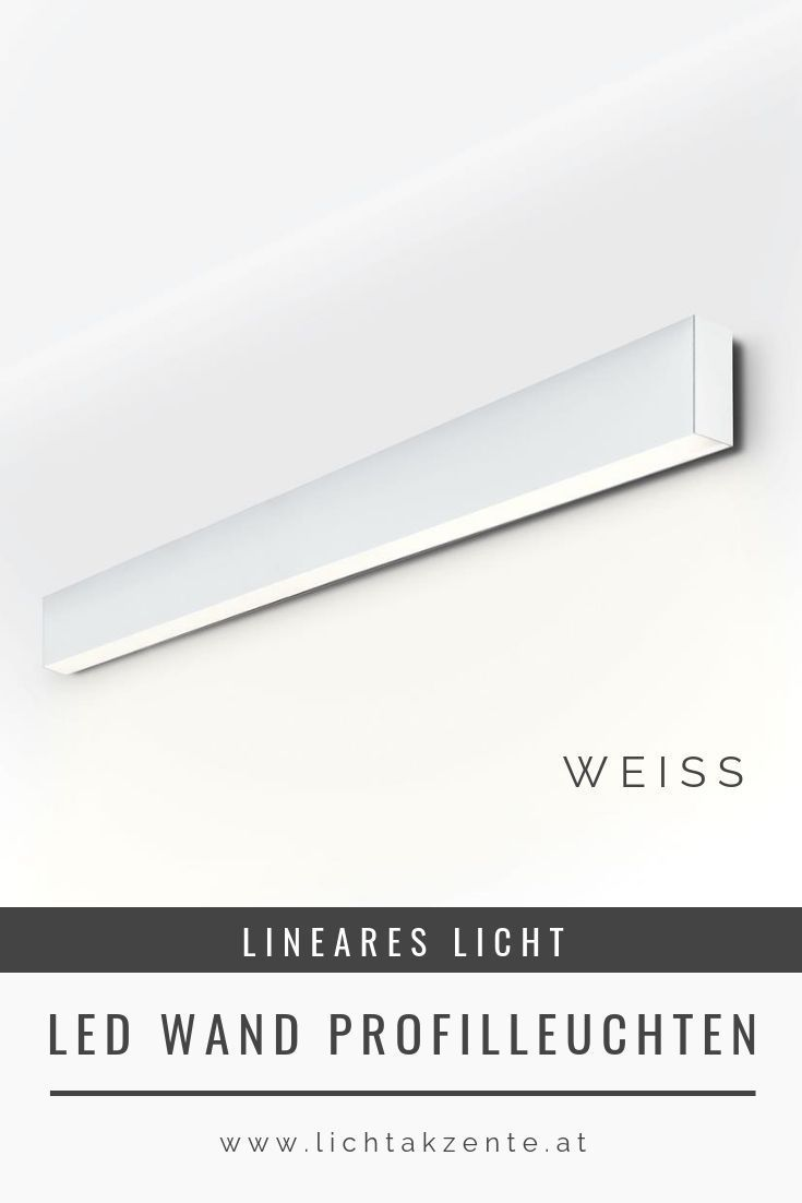Planlicht Led Wandleuchte P Forty Lineare Beleuchtung Led Licht