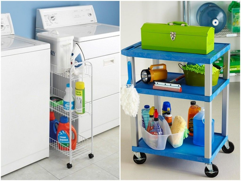 The Incredible Moveable Space Friendly Cart Laundry