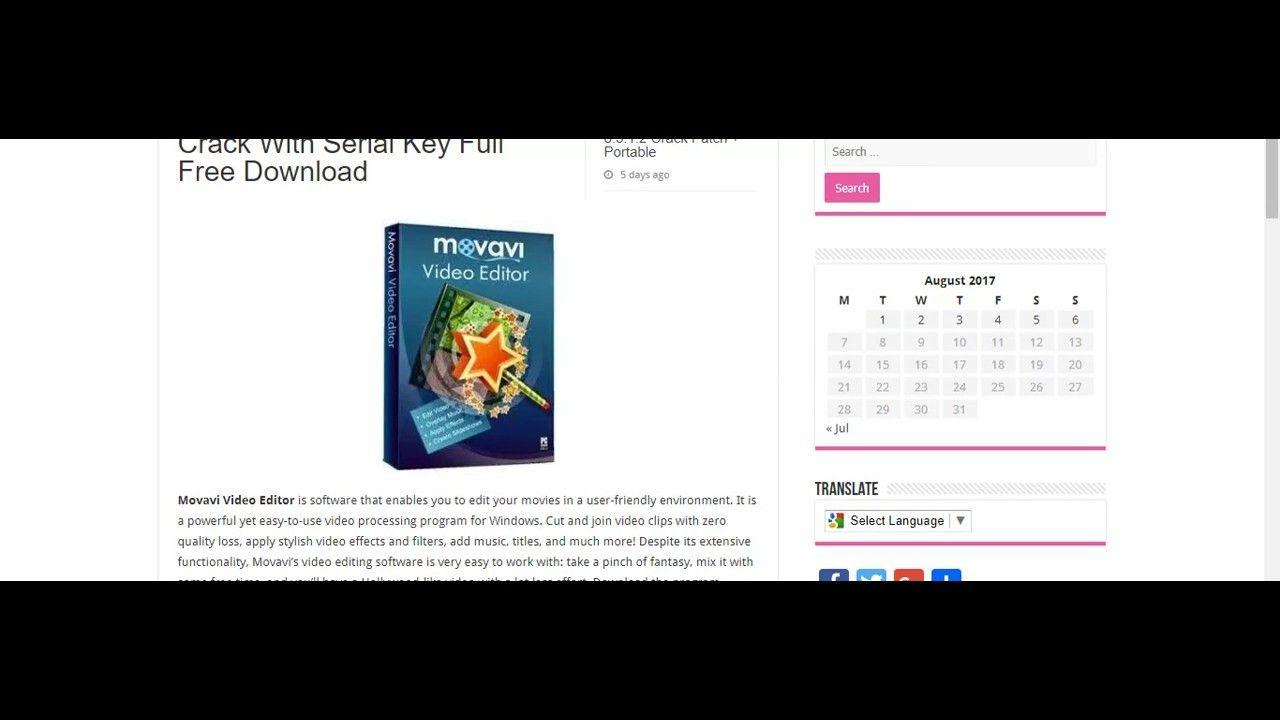 movavi video editor 12.5.1 activation key