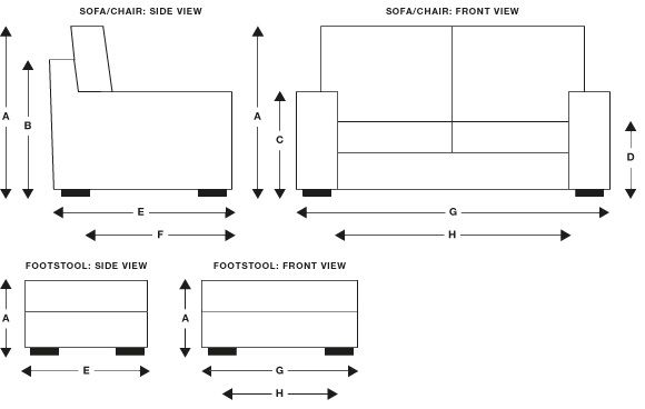 Sofa Chair Measurements   Iskanje Google | Dimentions | Pinterest | Stools,  Upholstery And Room