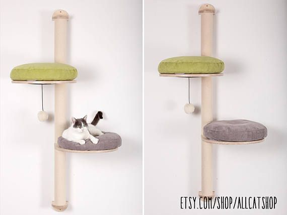 Wall Mounted Scratch Post High Quality For Cats Cat Meow