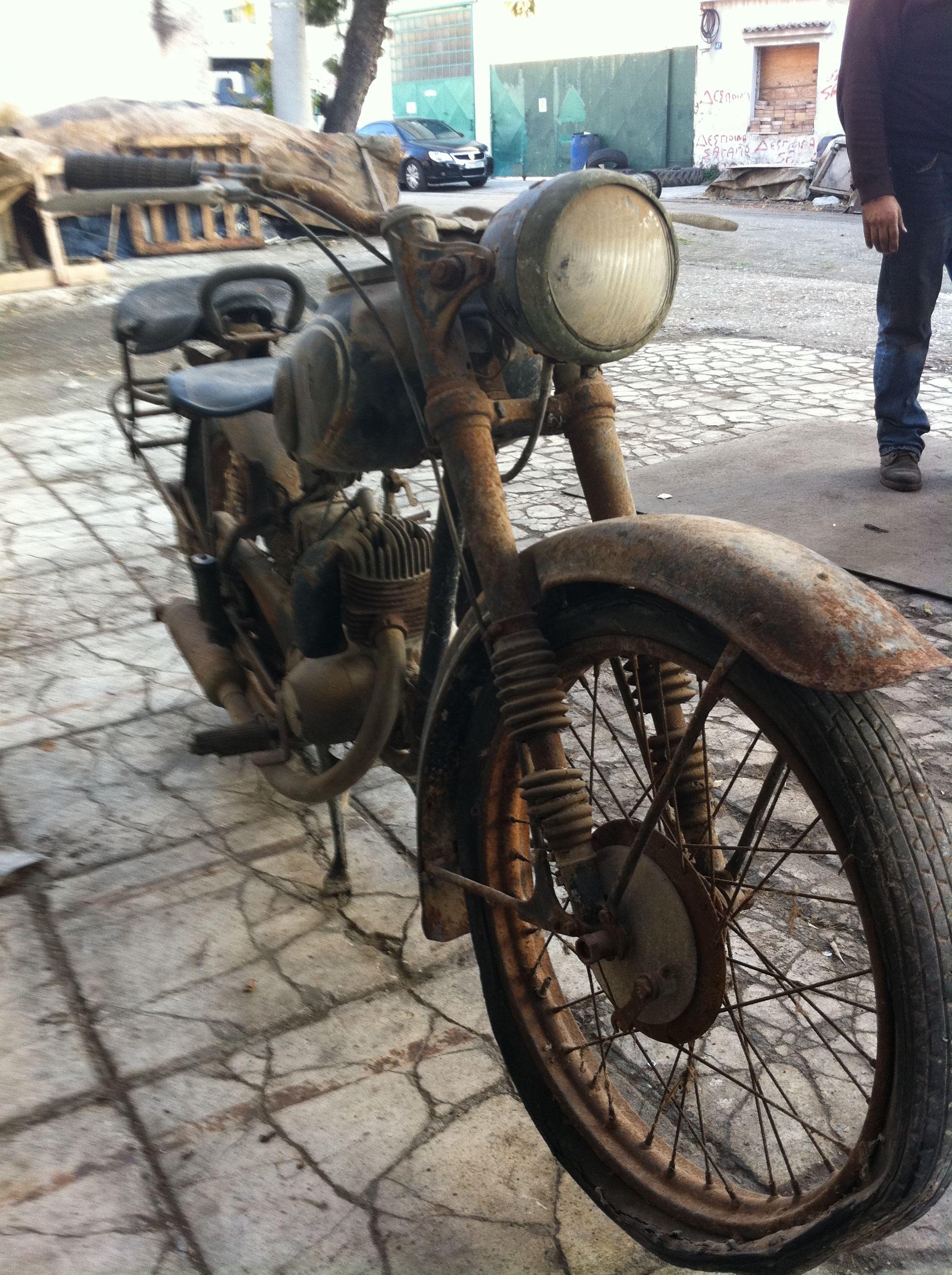 DKW RT 125/2 1953 (com imagens) | Motos antigas, Motos