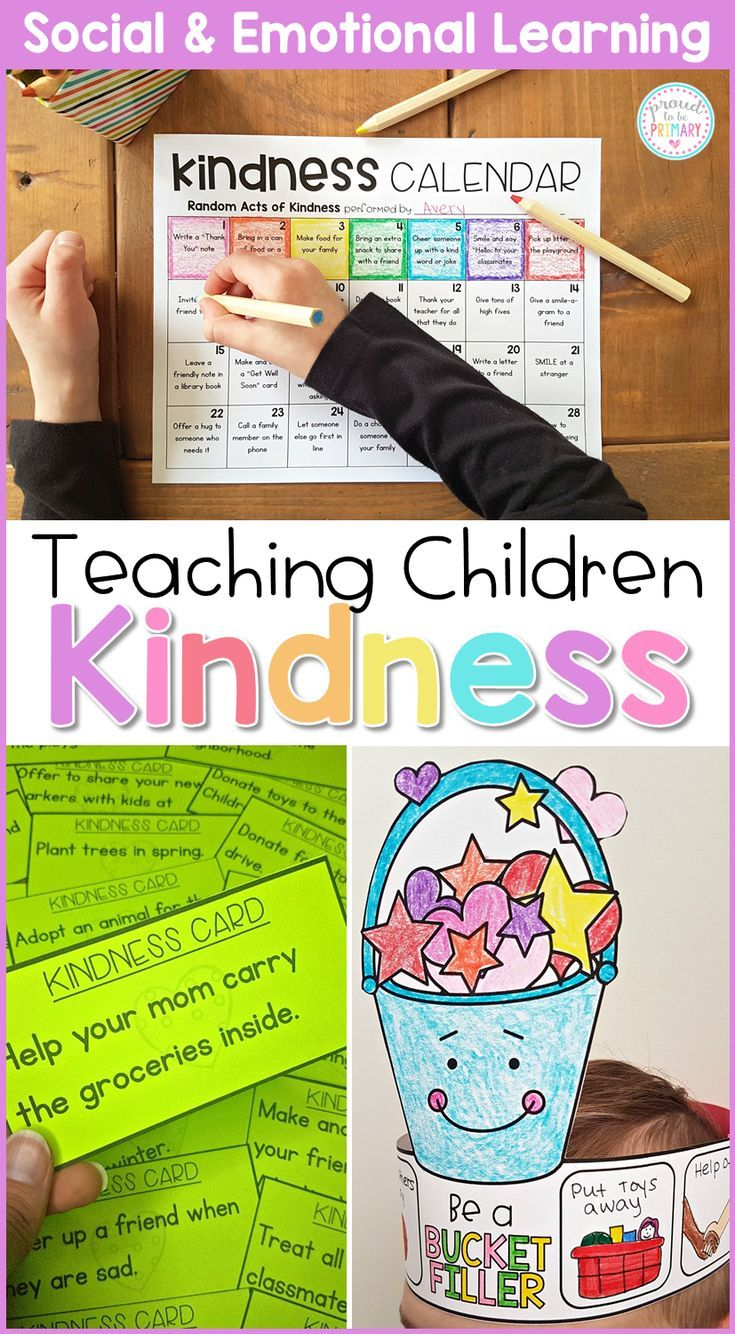 Kindness & Bucket Filling  Social Emotional Learning & Character Education is part of Social emotional learning - This social awareness SEL curriculum is teacherapproved and includes 5 detailed lessons filled with handson and mindful activities that teach children about kindness, have them complete a kindness challenge with random acts of kindness, and ways to be a bucket filler The lessons and activities wor