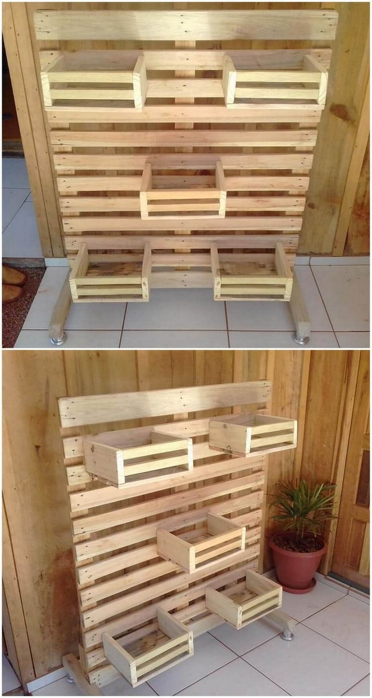 Wood Pallet Creations - #Créations #Pallet #Wood