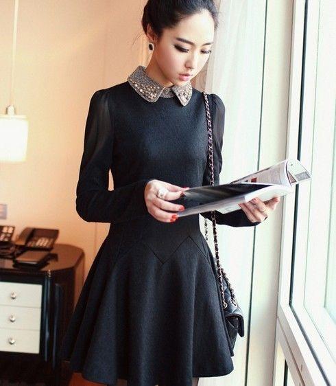 Uzun Kollu Klos Elbise Modelleri 9 Elbise Modelleri Uzun Kollu Elbise