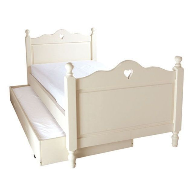 Belvoir Single Bed With Heart Childrens Single Beds Single Bed Cabin Beds For Kids