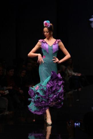 Traje de Flamenca - Sara-de-Benitez - Simof-2016