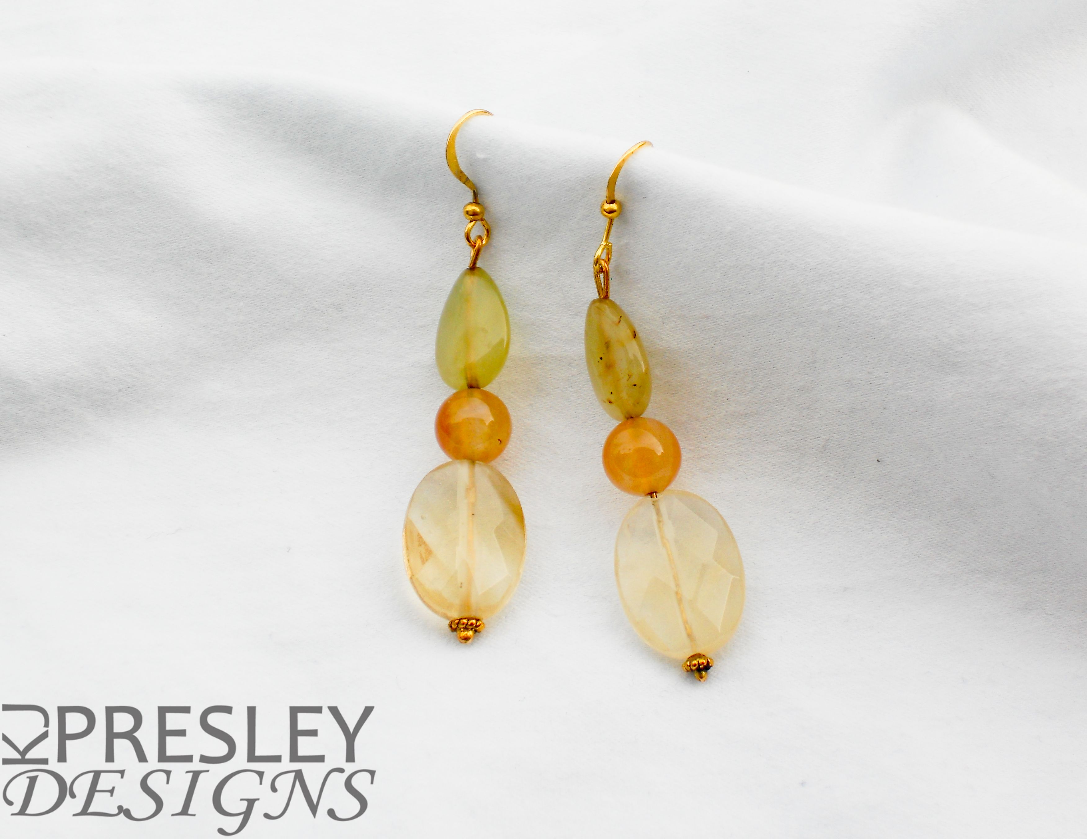 Agate, Jade. & Cherry Quartz Earrings by KJPresley Designs  http://www.kjpresleydesigns.com/ #jewelry #earrings #discontinued #sale @KJPresleyDesgns