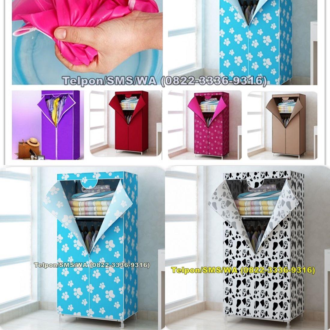 Lemari Baju Portable