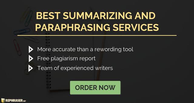 Paraphrasing V Summarizing Paraphrase Summarize Plagiarism Summary And Tool