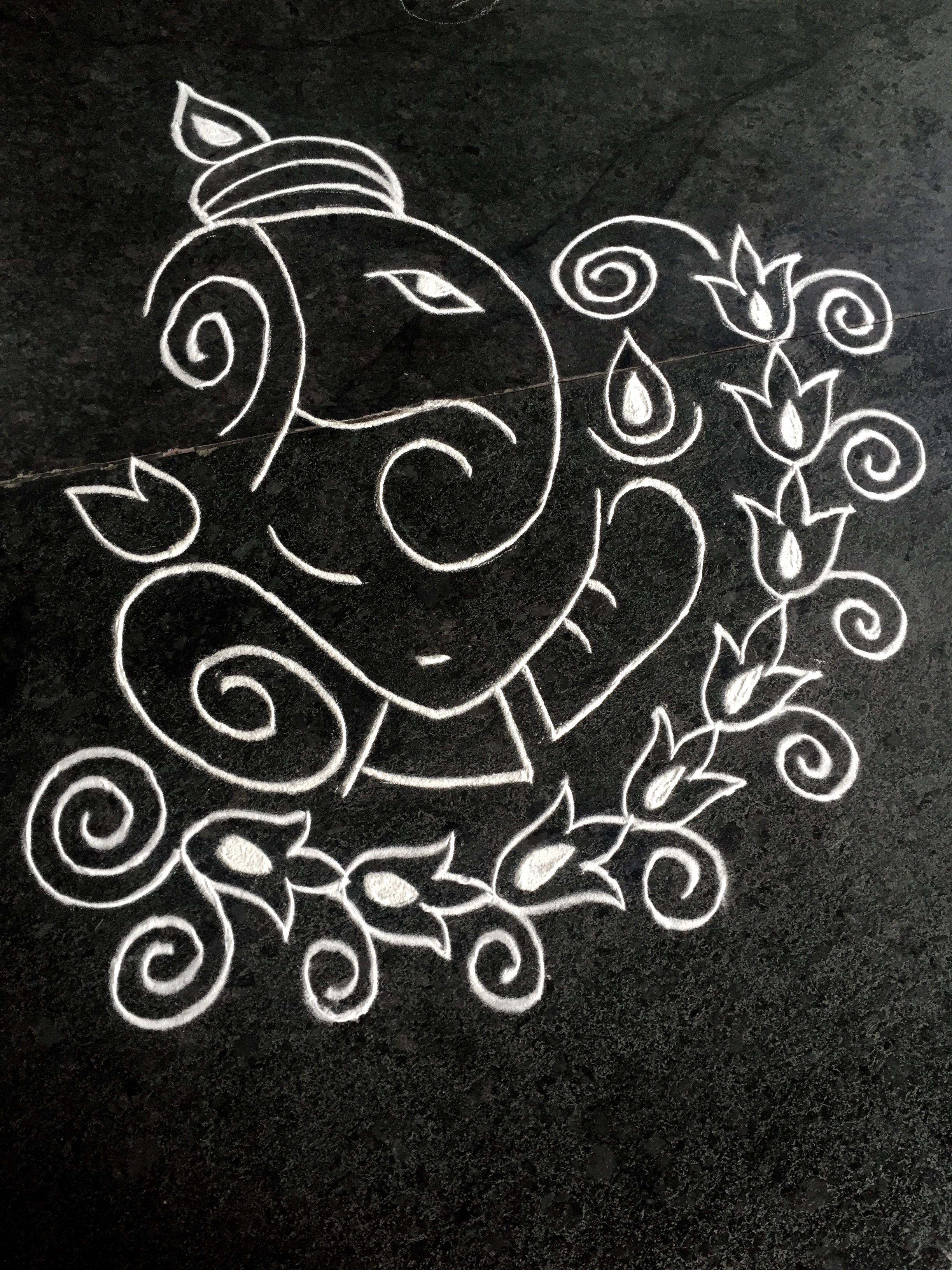 Ganesha rangoli diwali rangoli indian rangoli small rangoli design beautiful rangoli designs