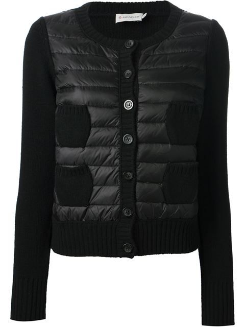 Shop Moncler feather down front cardigan in Jofré from the world's best independent boutiques at farfetch.com. Over 1000 designers from 300 boutiques in one website.