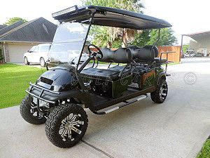 Custom lifted 2011 Club Car Precedent strectched limo 6 ... on gas powered golf cart for off-road, gas powered golf carts sale, custom golf carts sale,
