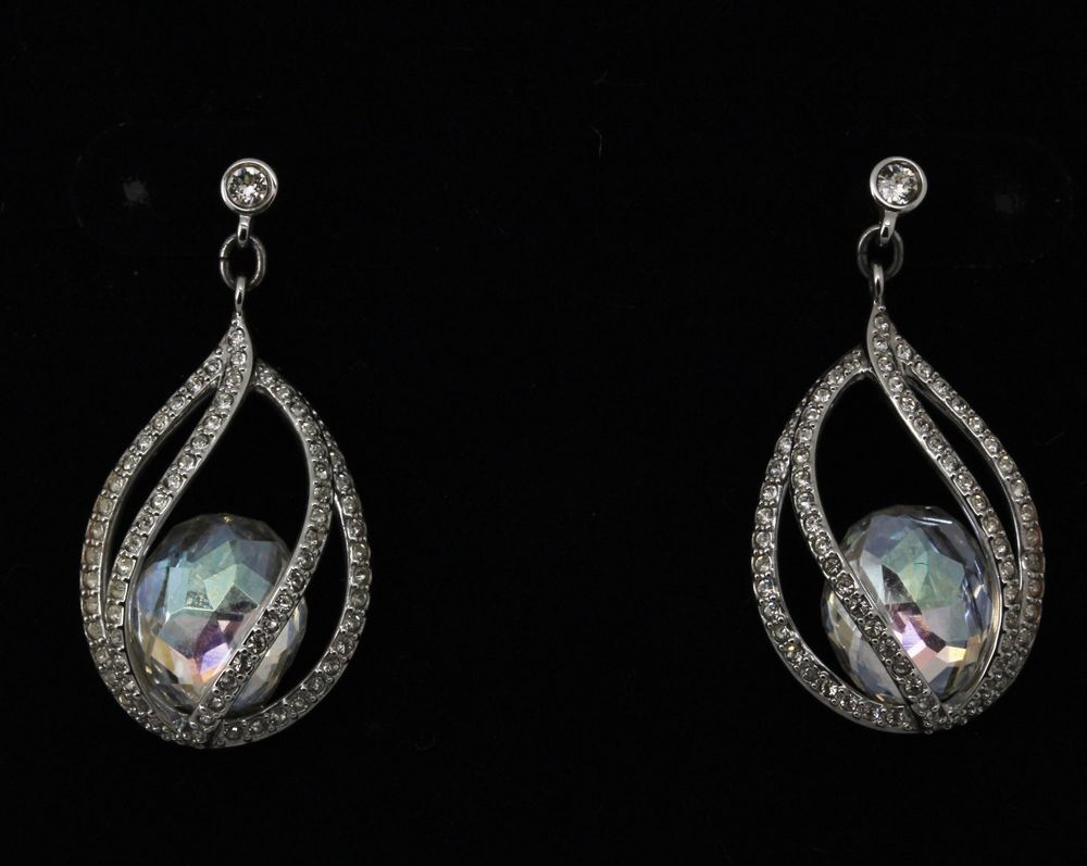 Swarovski Earrings Megan Pierced Dropdangle