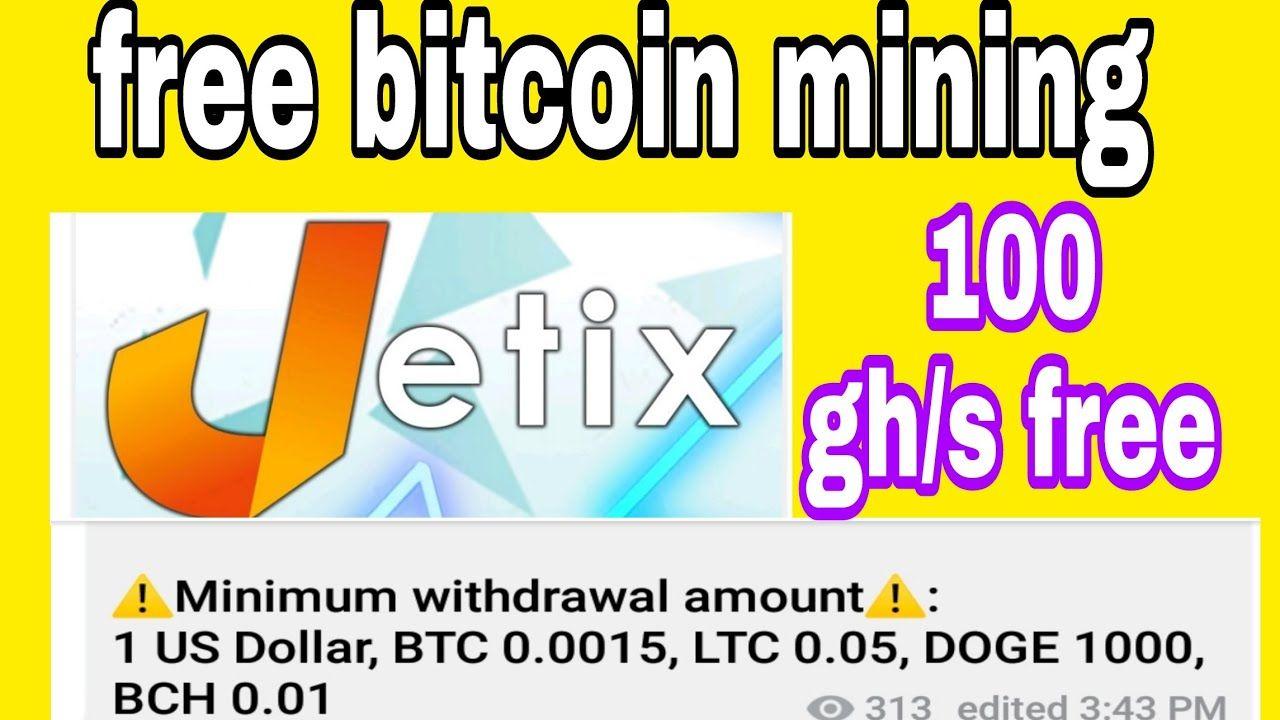 how to earn money Jetix.ltd free bitcoin cloud mining  site 2020|big money technical