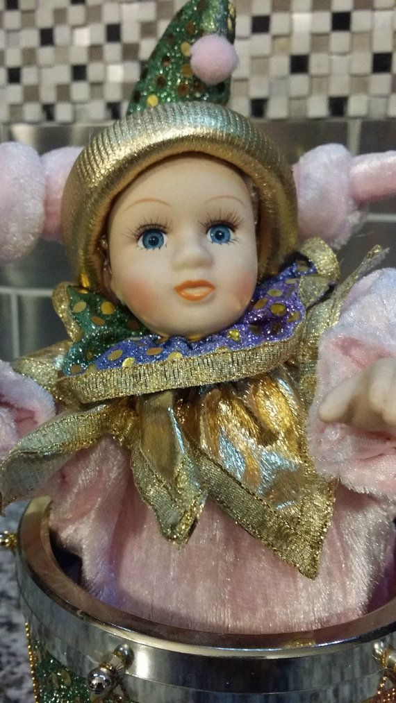 Vintage wear and tear present. This doll is in wonderful condition for its age. It was part of a large doll collection and was stored