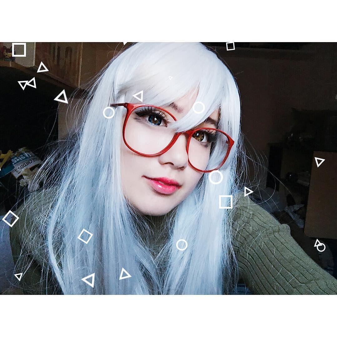 I'm cosplaying Joel  Nya Nya Nya (:    #animegirls #animelover #animecosplay #anime#cosplay#manga#mangaka#ulzzang#otaku#weeaboo#cosplayer#kawaii#tumblr #pastel #grunge #nugoth #whitehair #redglasses #korean #mua #makeup #bigeyes