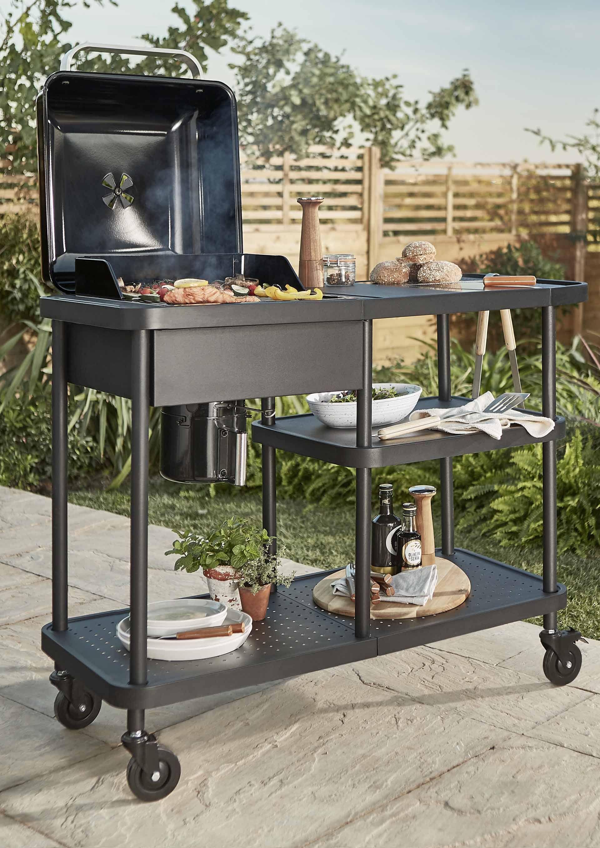 Barbecue A Gaz Ou Electrique comment installer une cuisine extérieure d'été ?   barbecue