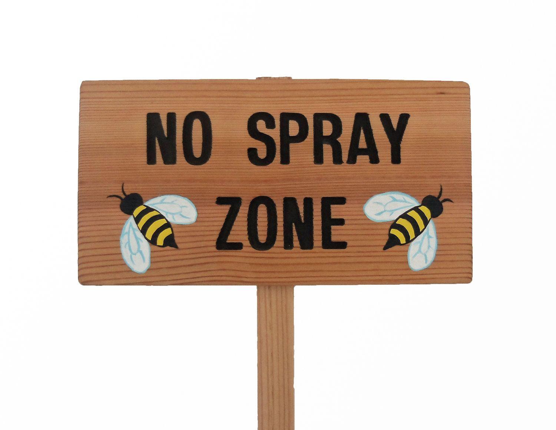 Bee Crossing Decal Zone Xing hive bumble keeper killer honey honeybee sting