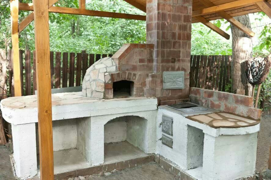 How to build an outdoor brick pizza oven   DIY   Pinterest