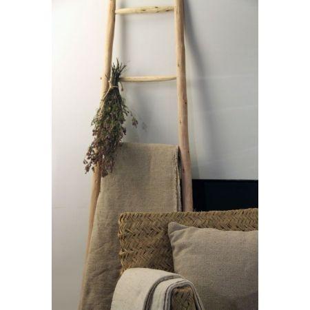 Escalera decorativa madera 40x120cm y 50x180cm complementos decoraci n escaleras de madera - Escaleras de madera decorativas ...