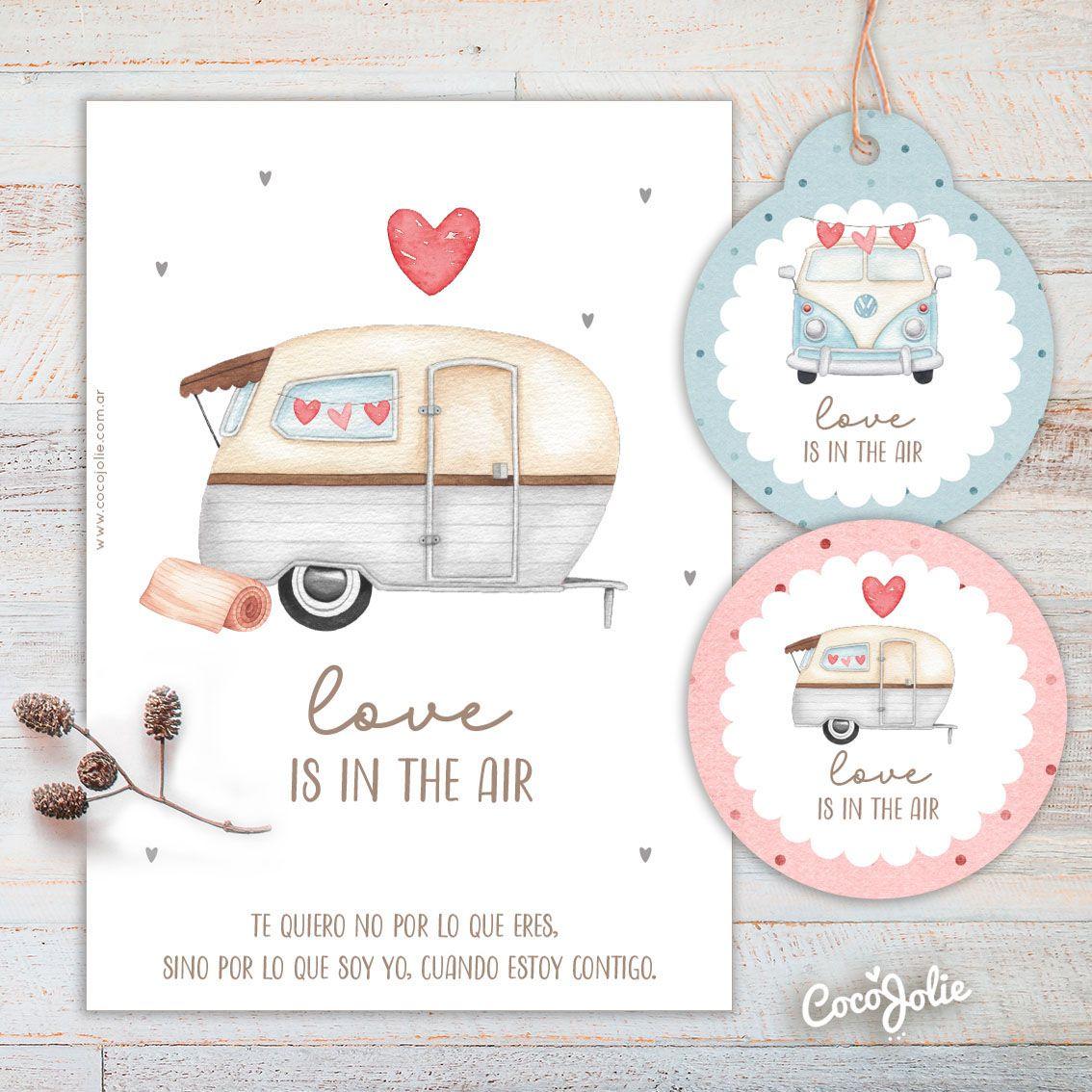 Kit Caravana San Valentin En 2021 Kit Imprimible Imprimible Dia De Los Enamorados