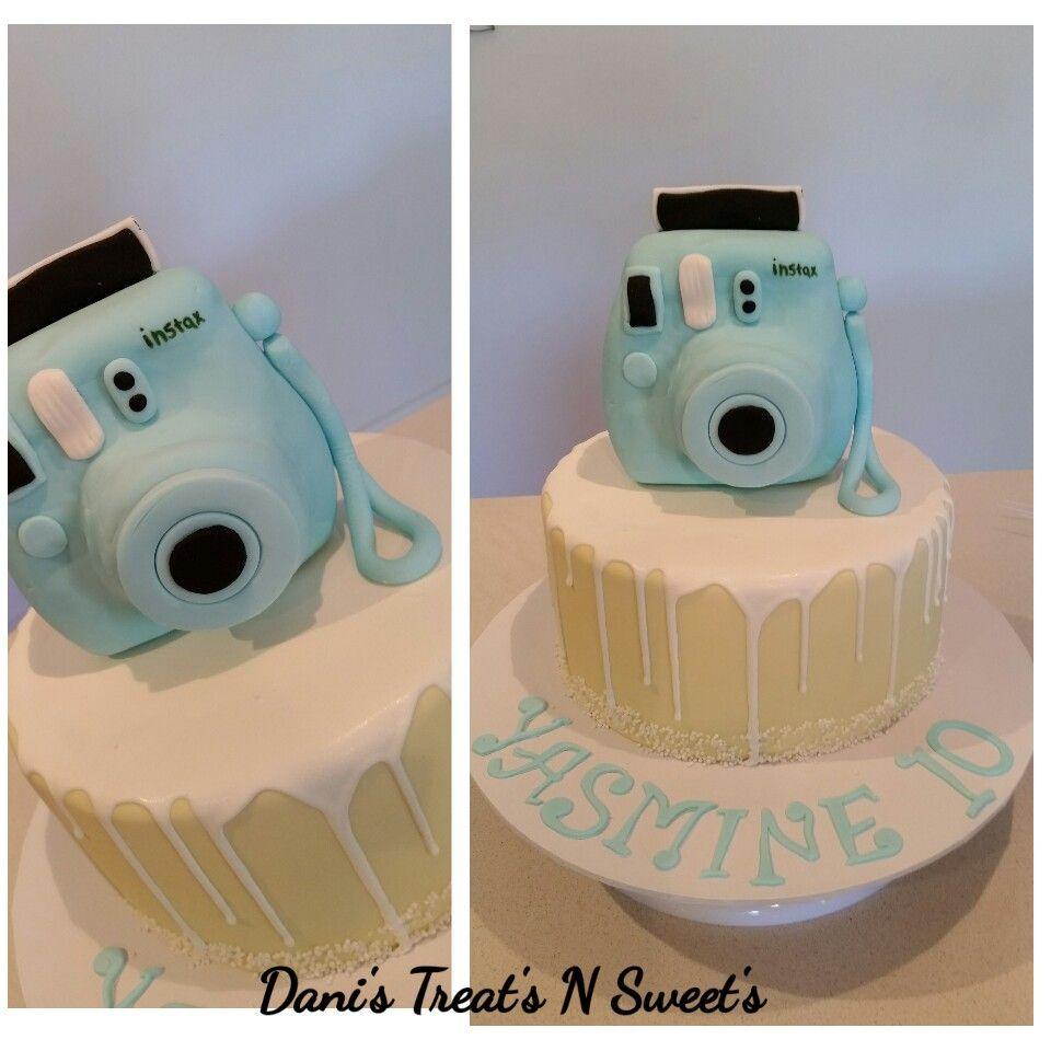 617eb50bc9 Instax camera cake