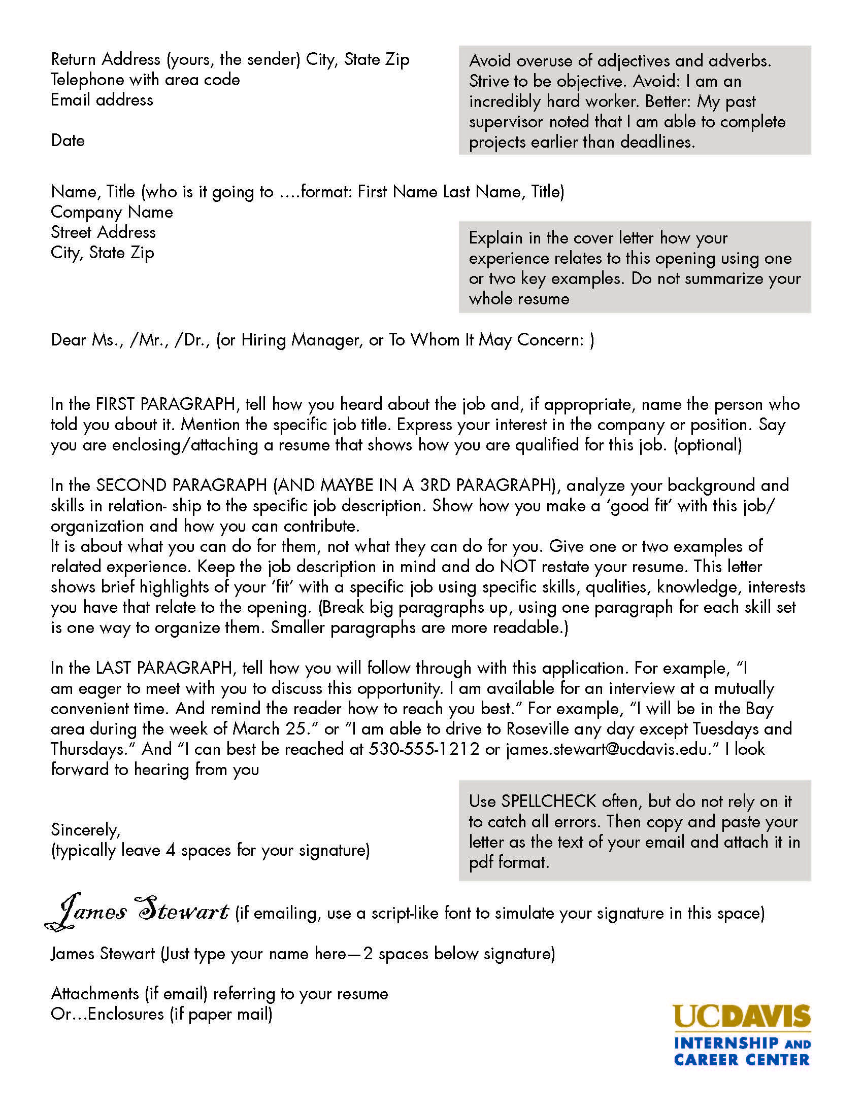 great cover letter in 2020 Cover letter for internship