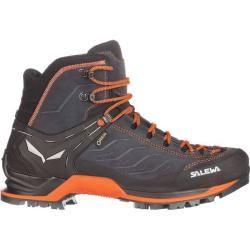 Salewa Herren Trekkingschuhe Mountain Trainer Mid Gtx, Größe 46 in Asphalt/Fluo Orange, Größe 46 in
