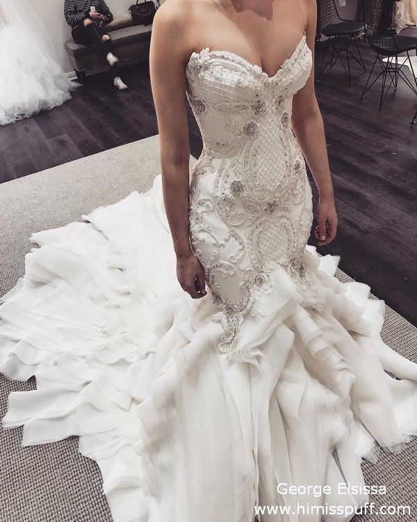 30 George Elsissa Wedding Dresses Youll Love