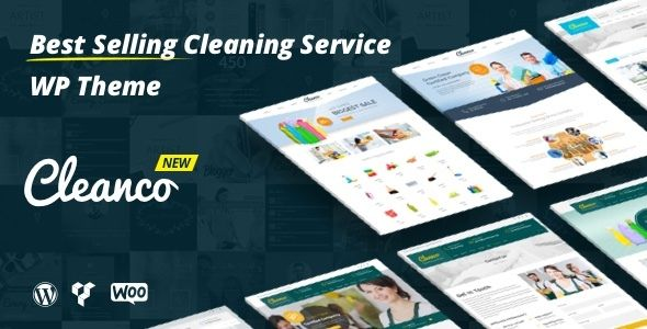Cleanco v2.0.0 – Cleaning Company WordPress Theme | Template | Pinterest
