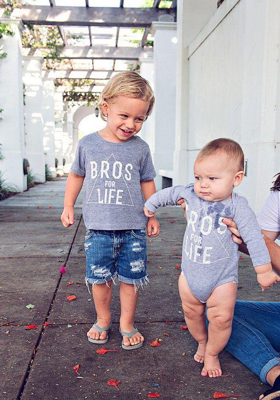 Graphic tee Grey Tee Shirt Boys Clothing Bros for by LittleBeansCo 0282335d6e1