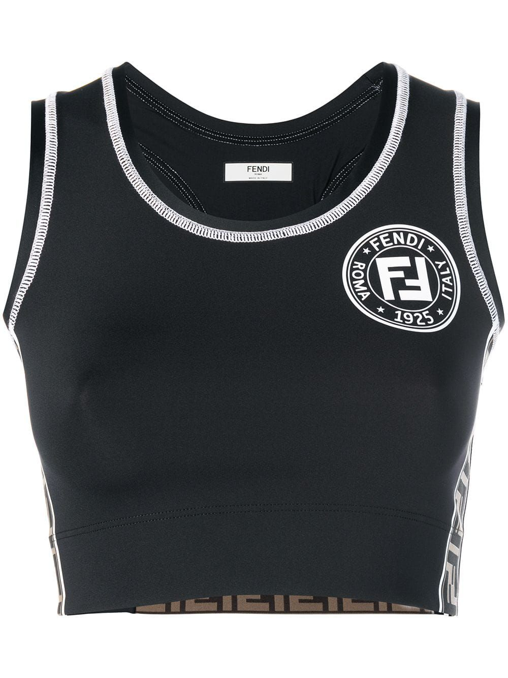 FENDI Black Sporty top. fendi cloth in 2019 Black