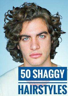 shag hairstyles for men 50 cool ideas  long hair styles