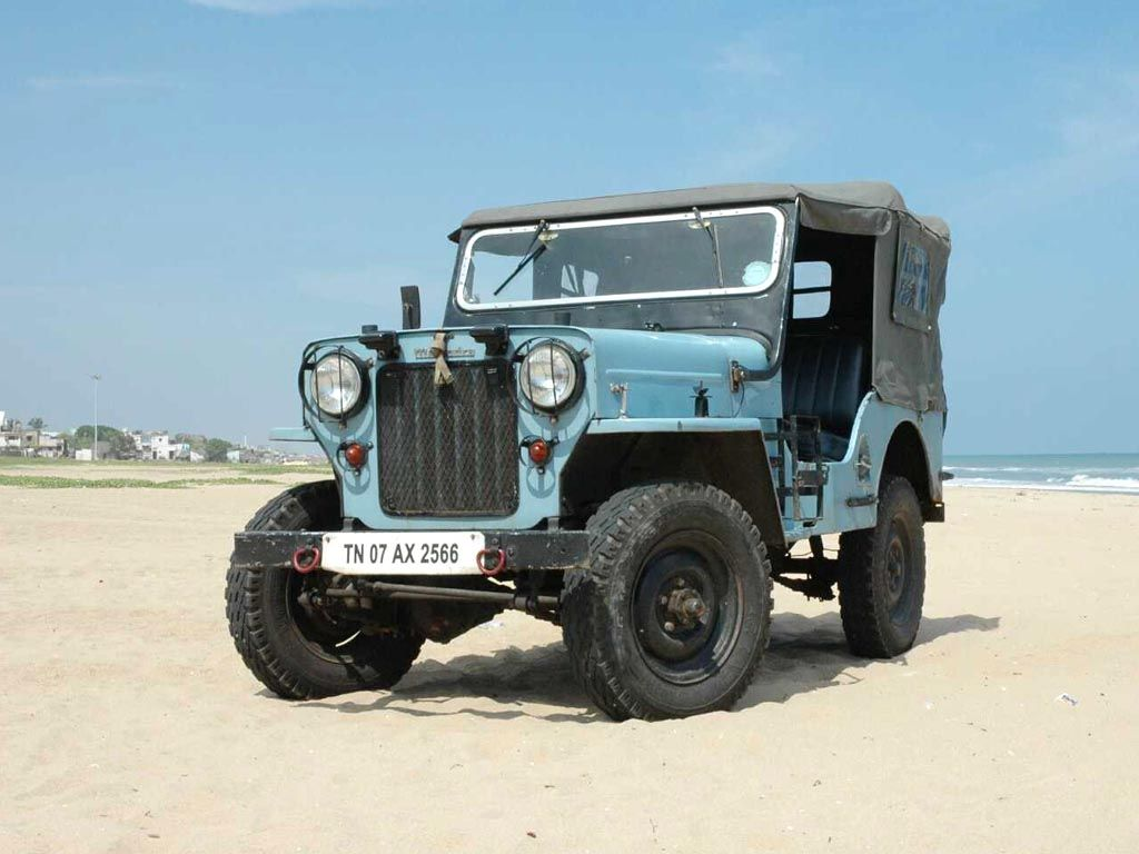 1985 Mahindra Jeep India Willys Jeep Jeep Mahindra Jeep