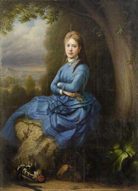 Լոմով Ն. Ֆ. Կնոջ դիմանկար 1871