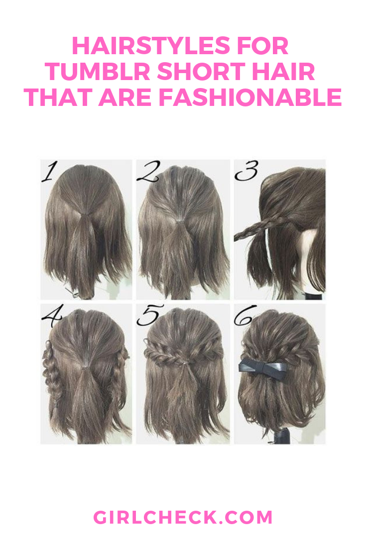 Hairstyles For Tumblr Short Hair That Are Fashionable Short Hair Styles Short Hair Styles Easy Hair Styles