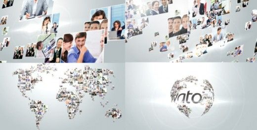 videohive multi video corporate world logo revealer 3190911, Powerpoint templates