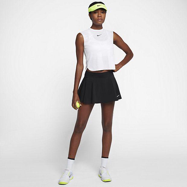 Nikecourt Dry Slam Women S Tennis Tank Tennis Outfit Women Tennis Clothes Tennis Skirt