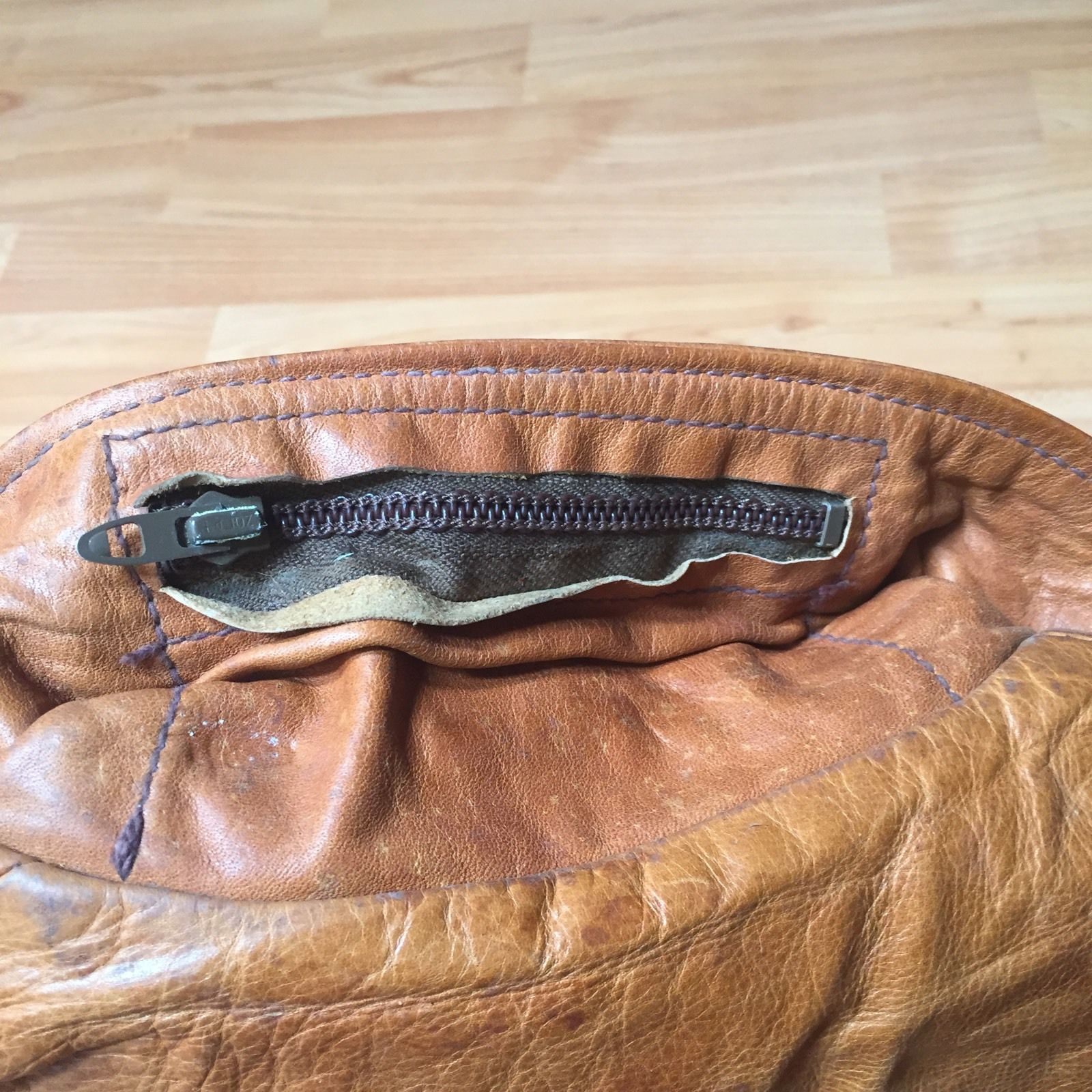 Vintage 1960 S East West Musical Instruments Leather Jacket Stash Pocket Nr East West Leather Jacket Leather