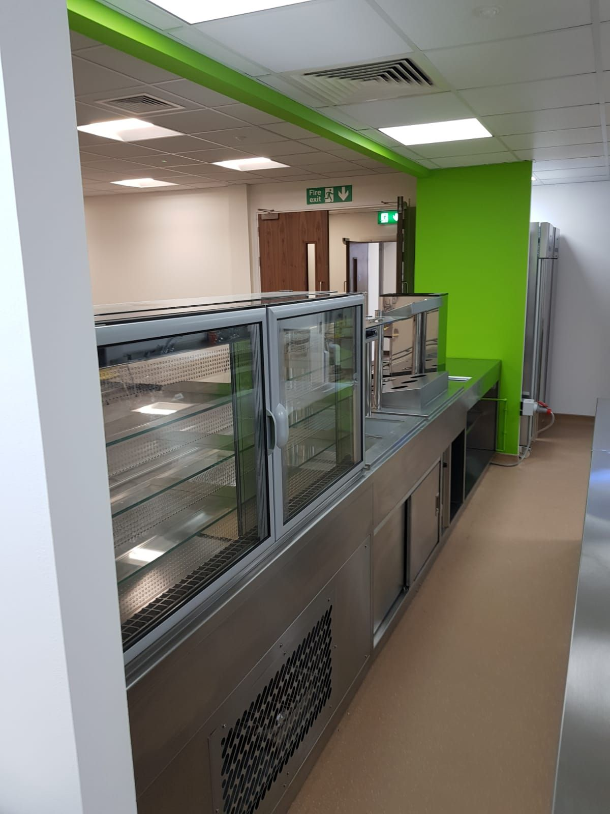 Bosch Wheatley Hall Road Doncaster Dolphin Catering Recently Supplied Installe Ventilation System Stainless Steel Fabrication Steel Fabrication