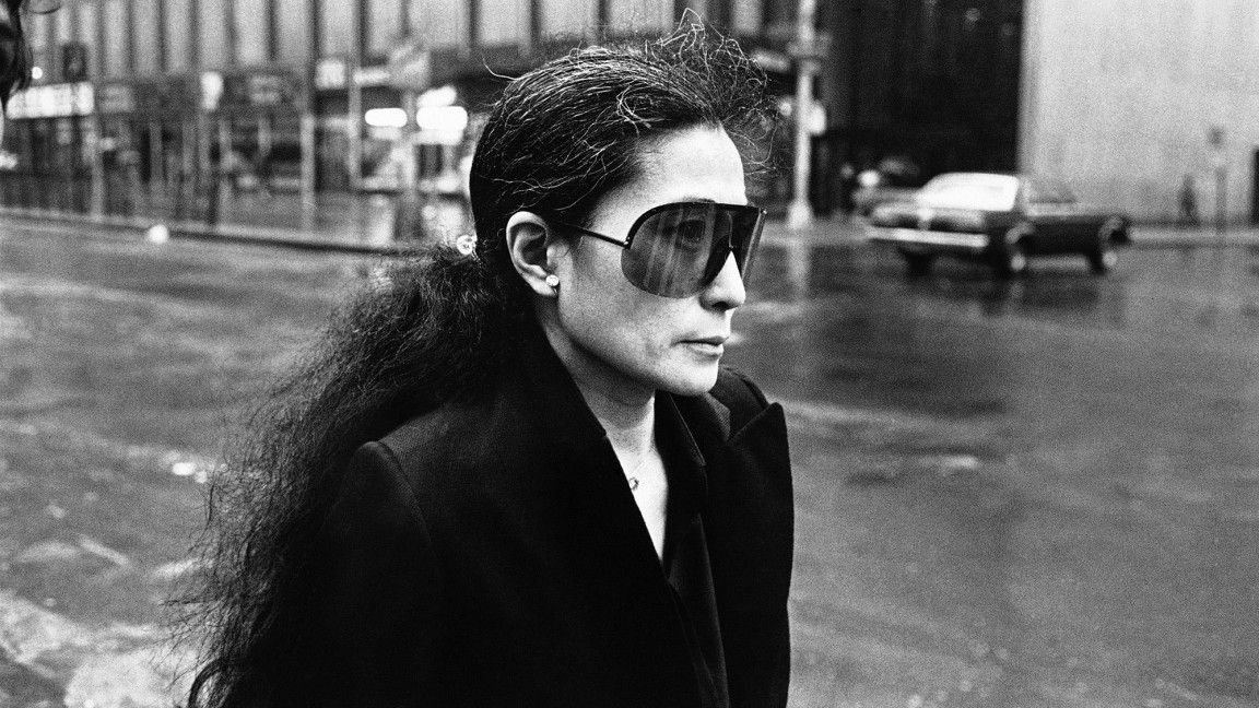 60828baedde Look Just As Cool As Yoko Ono with These Porsche Design Sunglasses ...