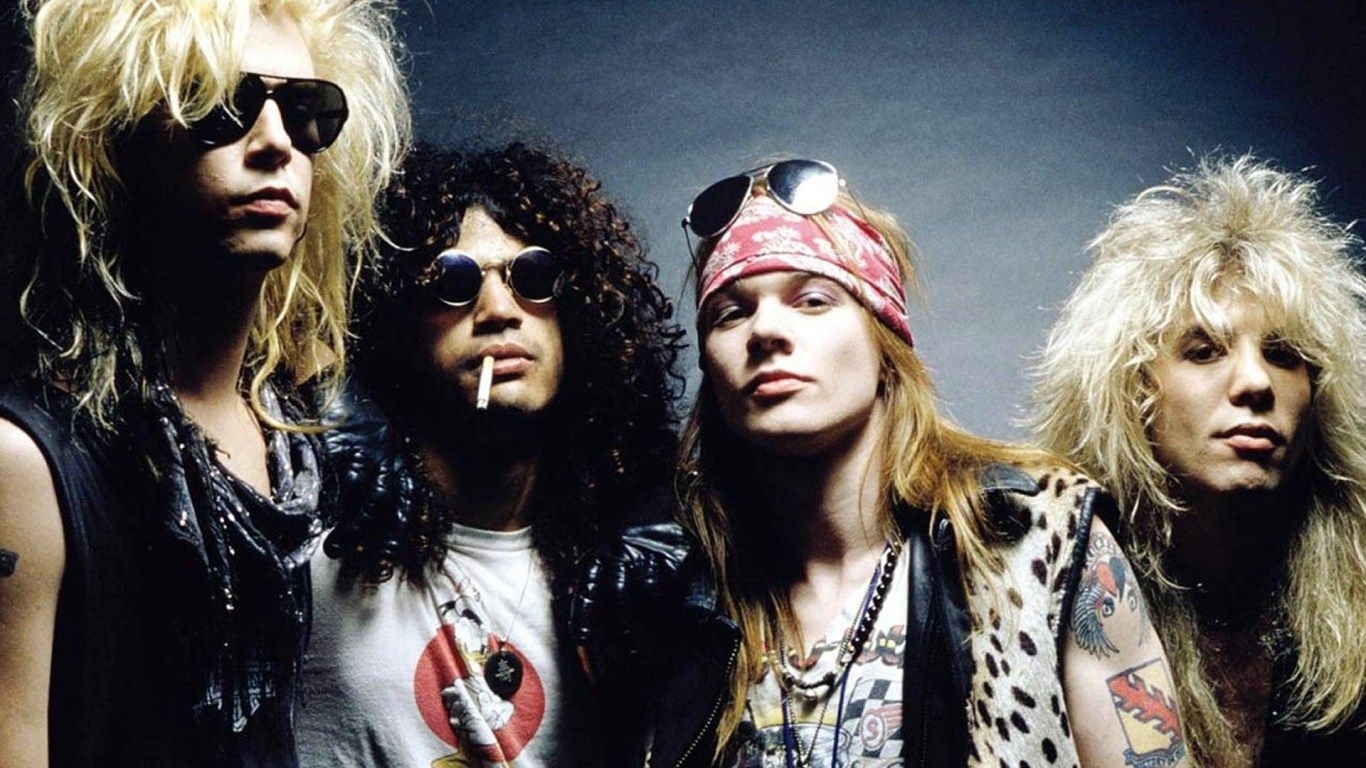 Axl Rose Duff Mckagan Guns N Roses Izzy Stradlin Slash Hd