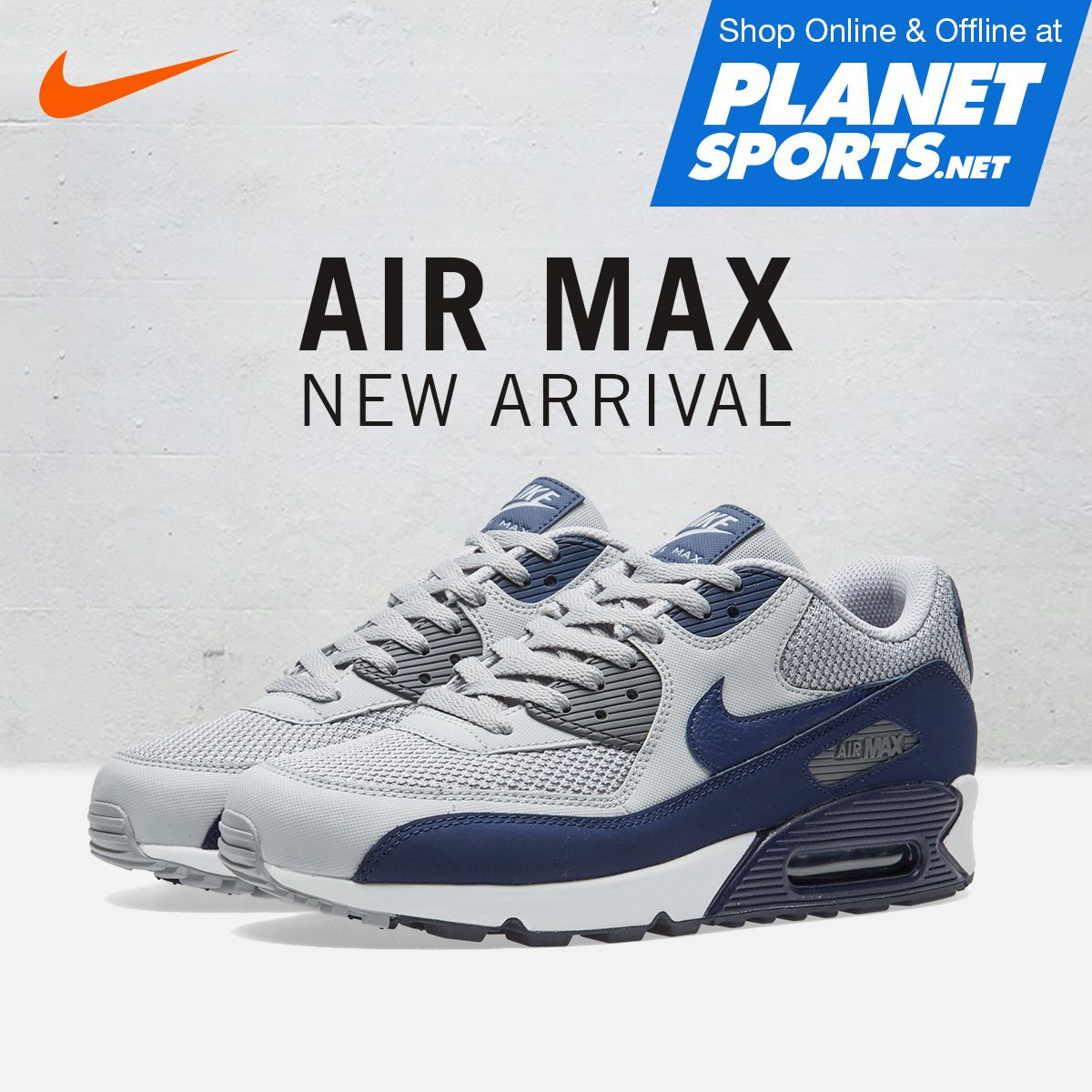 best service fb517 8d9b8 NIKE AIR MAX 90 Essential Iconic profile with Impact protection. Featuring  the superb cushioning that