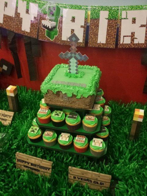 Minecraft Birthday Party Ideas Birthdays Birthday party ideas and